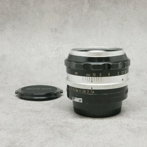 中古品 Nikon Auto NIKKOR-S 5.8cm F1.4