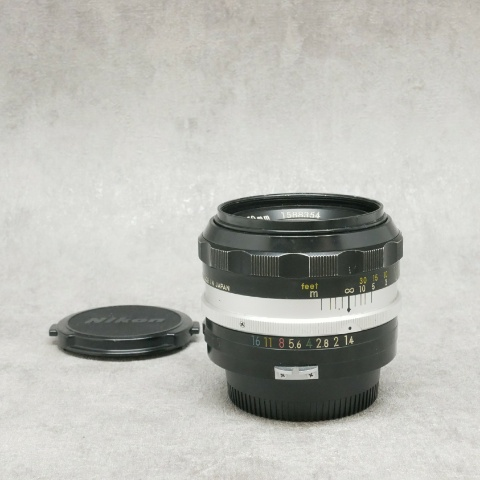 中古品 Nikon Auto NIKKOR-S.C 50mm F1.4 非Ai
