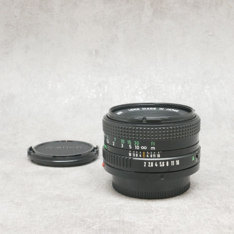 中古品 Canon New FD 50mm F2