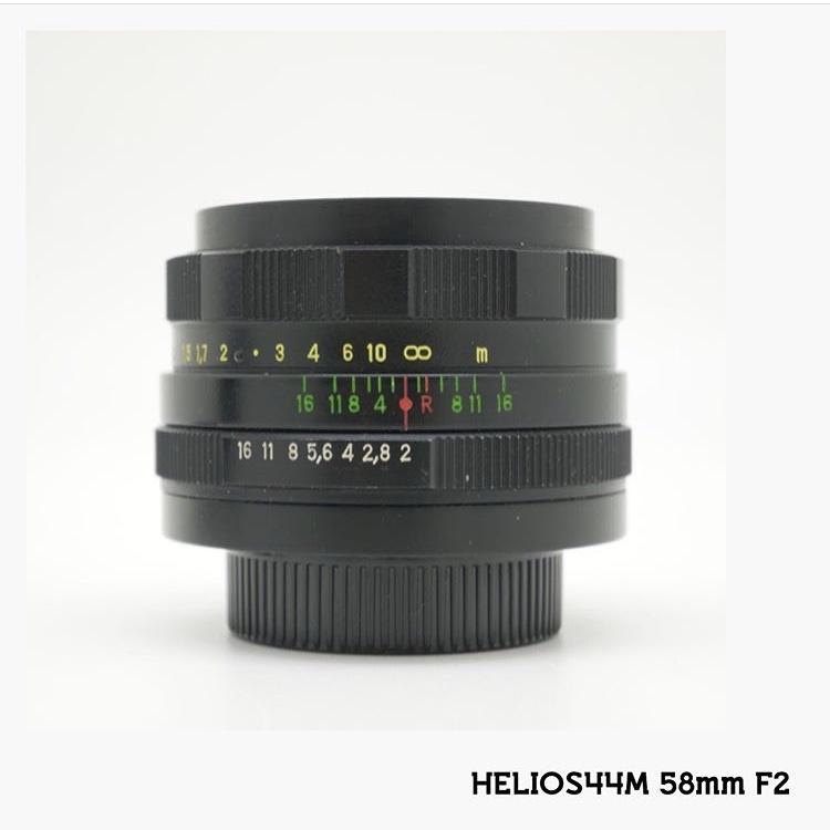 中古品 HELIOS 44M  58mm F2 人気の為予約になります