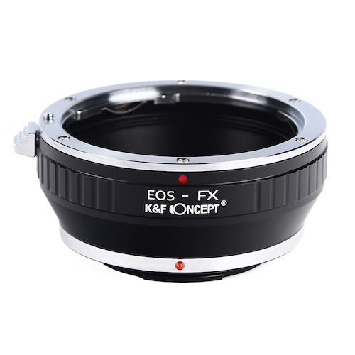 K&F Concept Canon EOSレンズ-Fuji Xマウント マウントアダプター