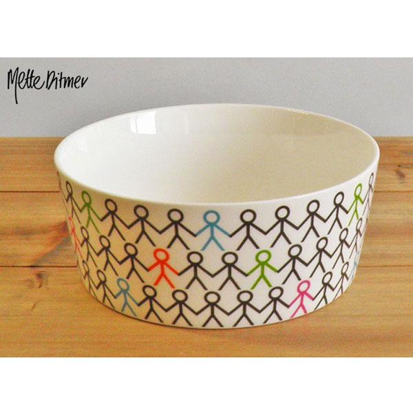 aida Mette Ditmer hold my hand medium bowl φ15cm 1pcs (ロット:1)