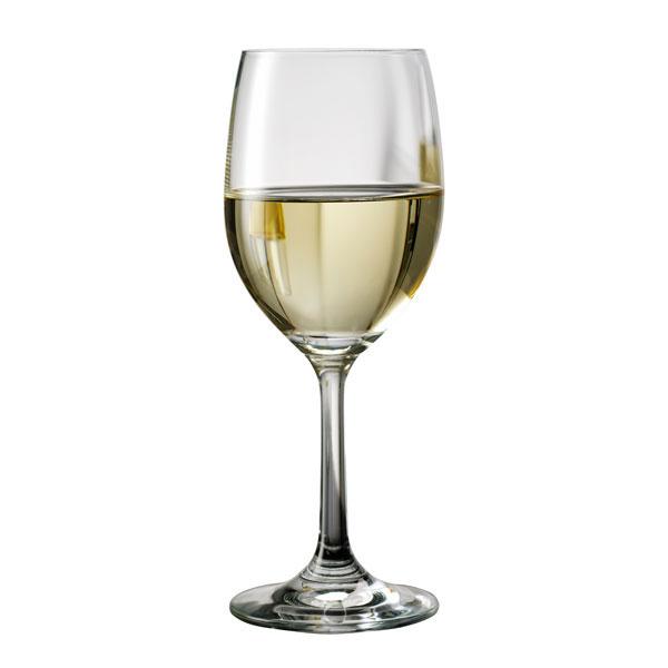 aida(アイーダ) 白ワイングラス 570ml クリスタルグラス 4個セット (ロット:4)