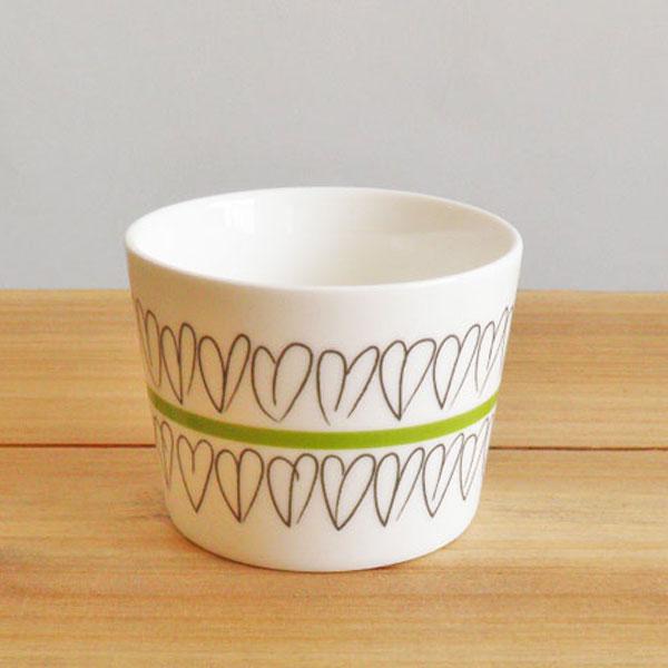 aida Mette Ditmer heart mini bowl φ6.5cm 1pcs (ロット:1)