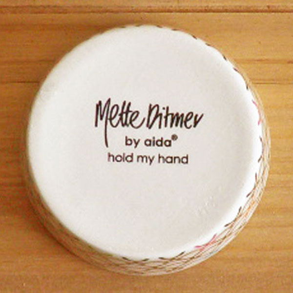 aida Mette Ditmer hold my hand mini bowl φ6.5cm 1pcs (ロット:1)