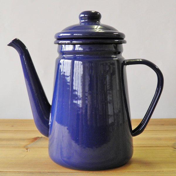 琺瑯 コーヒーポット1.1L (ロット:1)
