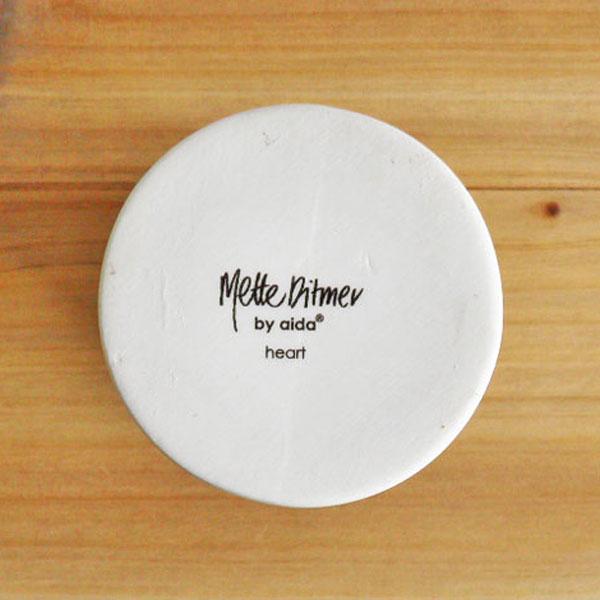 aida Mette Ditmer heart flower vase 1pcs (ロット:1)