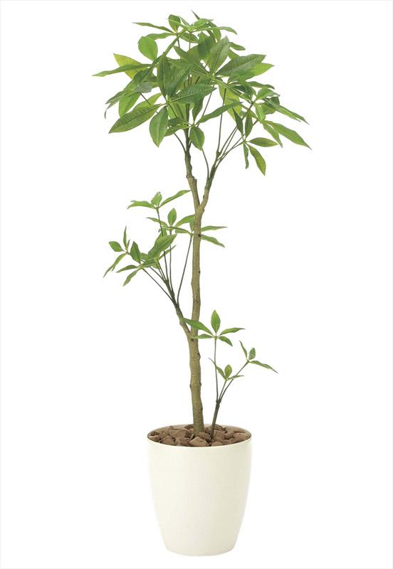 観葉植物 インテリアグリーン フェイク 人工観葉植物 光触媒 パキラ1.3 《アートグリーン》