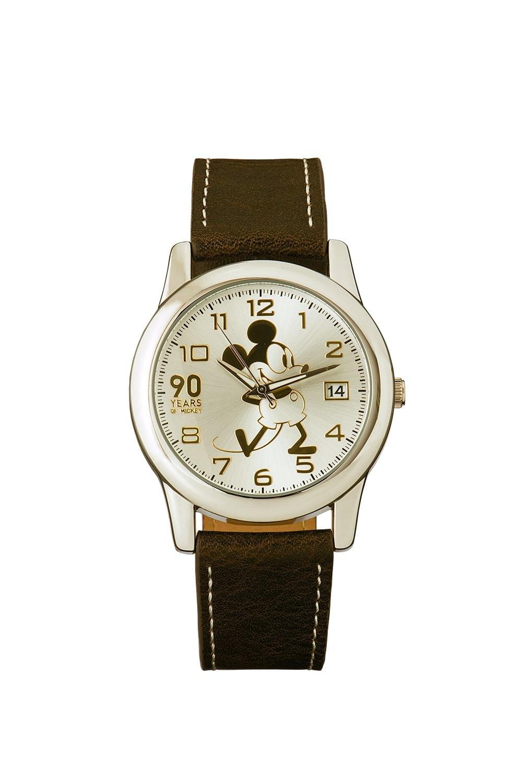 腕時計 ミッキー 記念品  ミッキー生誕90周年記念腕時計 Mickey 90th watch 3G1688U-012 ディズニー Disney