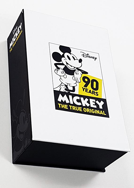 腕時計 ミッキー 記念品  ミッキー生誕90周年記念腕時計 Mickey 90th watch 3K2523U-002 ディズニー Disney