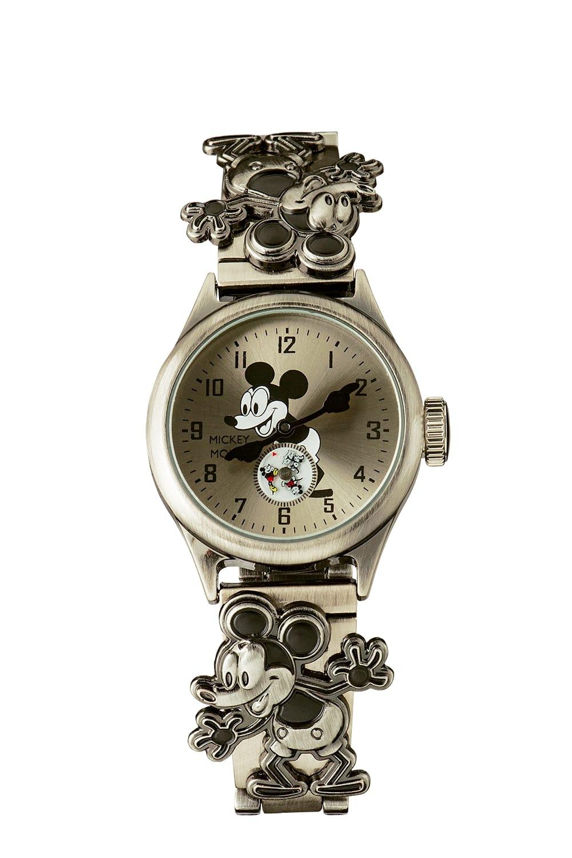 腕時計 ミッキー 記念品  ミッキー生誕90周年記念腕時計 Mickey 90th watch 3K2524A-003 ディズニー Disney