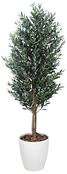 観葉植物 インテリアグリーン フェイク 人工観葉植物 光触媒 オリ−ブ 1.8  《アートグリーン》
