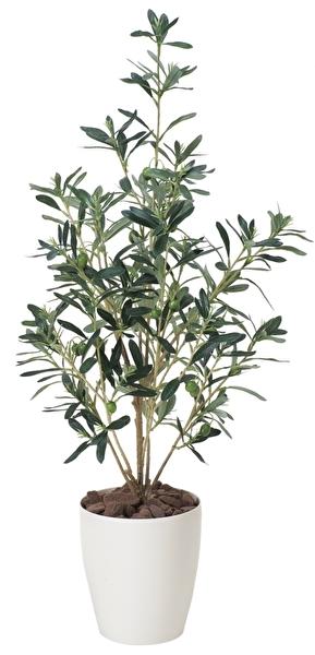 観葉植物 インテリアグリーン フェイク 人工観葉植物 光触媒 オリ−ブ90  《アートグリーン》