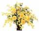 観葉植物 インテリアグリーン フェイク 人工観葉植物 光触媒 ゴ−ルドエ−ス  《アートグリーン》