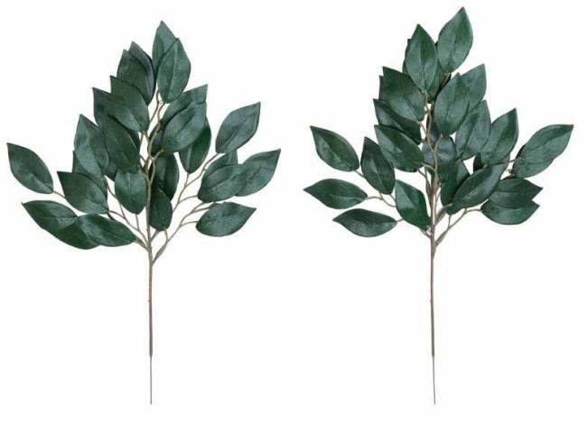 観葉植物 インテリアグリーン フェイク 人工観葉植物  榊小4本セットN  <光触媒加工なし> 《アートグリーン》