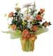 観葉植物 インテリアグリーン フェイク 人工観葉植物 光触媒 サンセットロ−ズ  《アートグリーン》