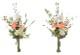 観葉植物 インテリアグリーン フェイク 人工観葉植物  仏花リリ−2個セットN <光触媒加工なし> 《アートグリーン》