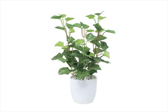 観葉植物 インテリアグリーン フェイク 人工観葉植物 光触媒 ミニアイビ−ポット  《アートグリーン》