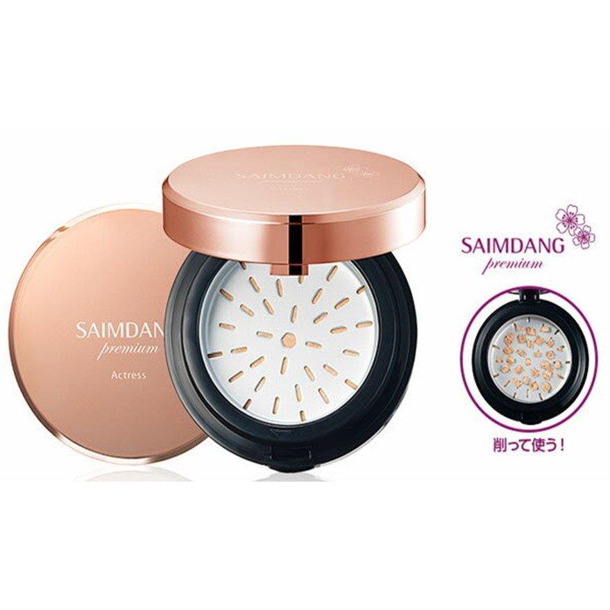 サイムダン SAIMDANG パウダーファンデーション サイムダンプレミアム アクトレス 3カラーフレッシュ サンパウダー&ブラシ特別セット  SAIMDANG premium