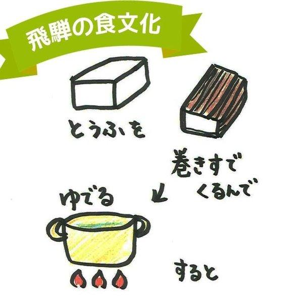 大町屋 こもどうふ 2本入 こも豆腐 こもとうふ  岐阜 飛騨 高山 特産品