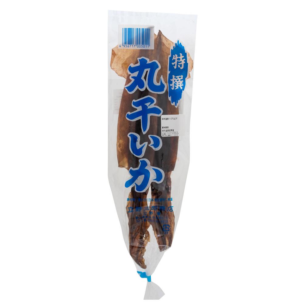丸干いか 2枚入 スルメ イカ 干物 特選 おつまみ 国産 日本海産 するめいか 富山 名産