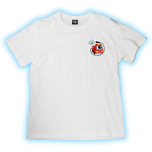 【超特価】セイバーズオリジナルTシャツ Fire Monster 大人用 【ホワイト】