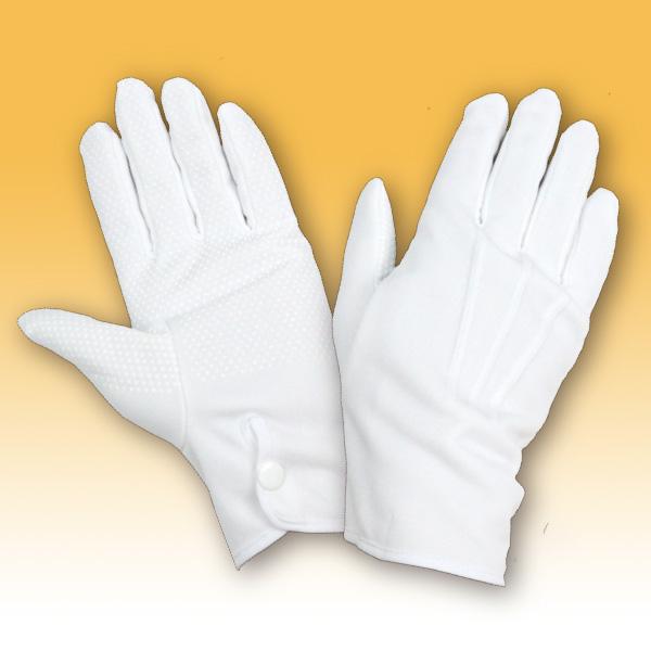 【滑止付】礼装用 防風防寒手袋 (ホック付)