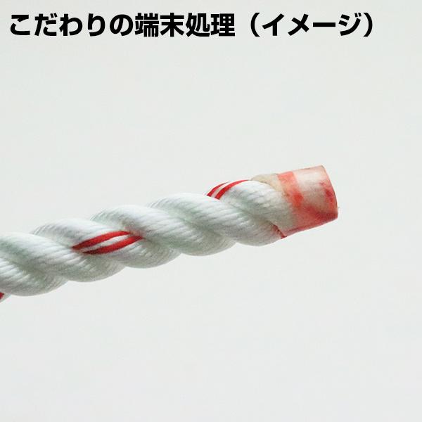 【東京製綱】M打(ミドル) 白 10m