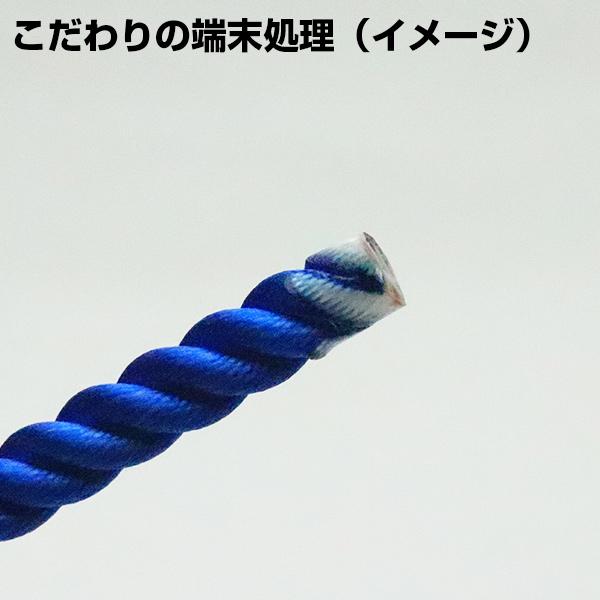 【東京製綱】M打(ミドル) 青 35m