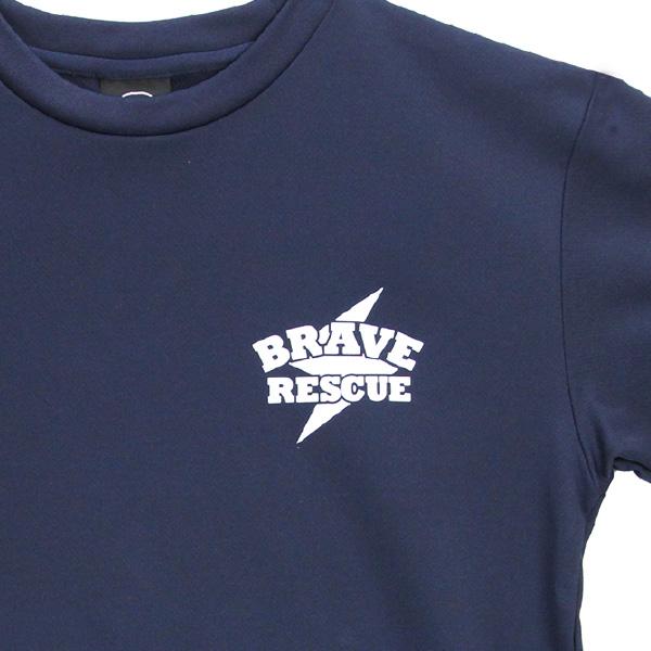 救助技術大会シリーズ Tシャツ「ロープブリッジ渡過」