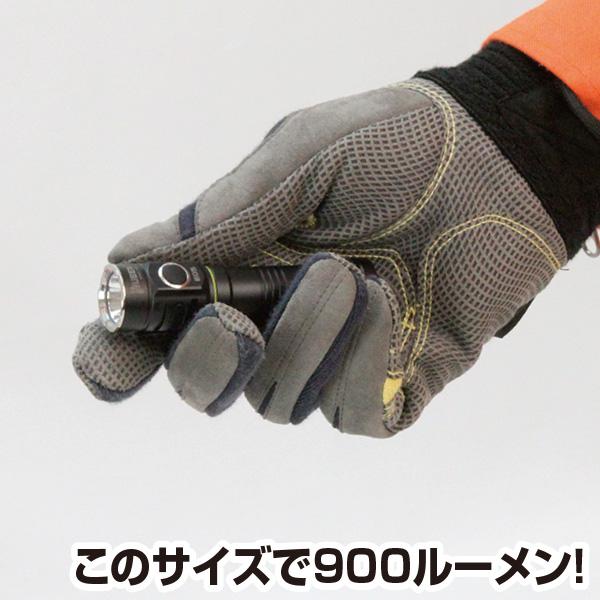 【WUBEN】コンパクト!MAX900ルーメン! E05