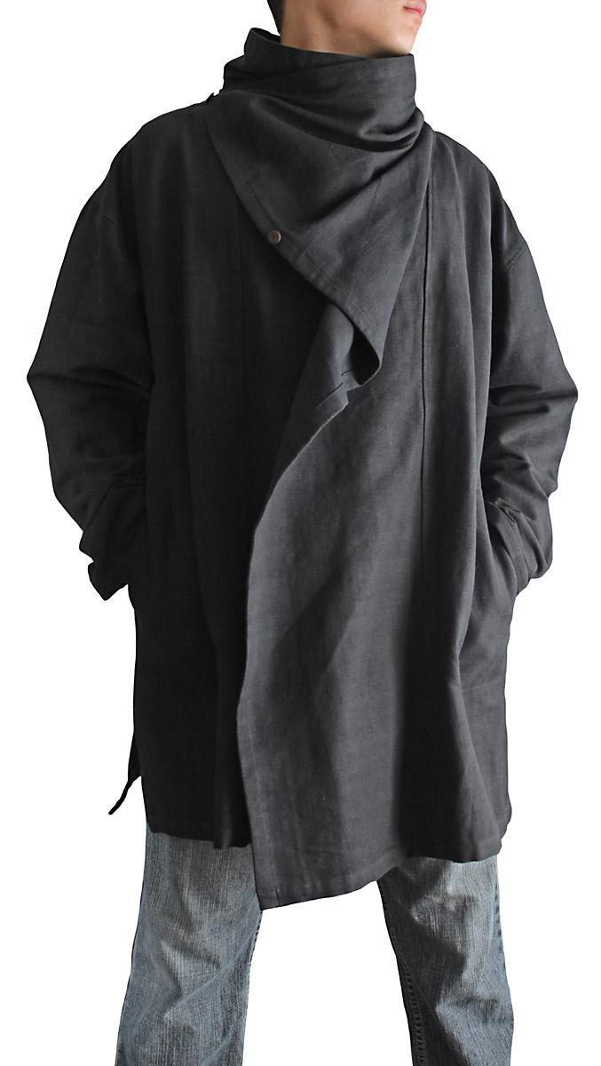 ジョムトン手織り綿マント風デザインジャケット