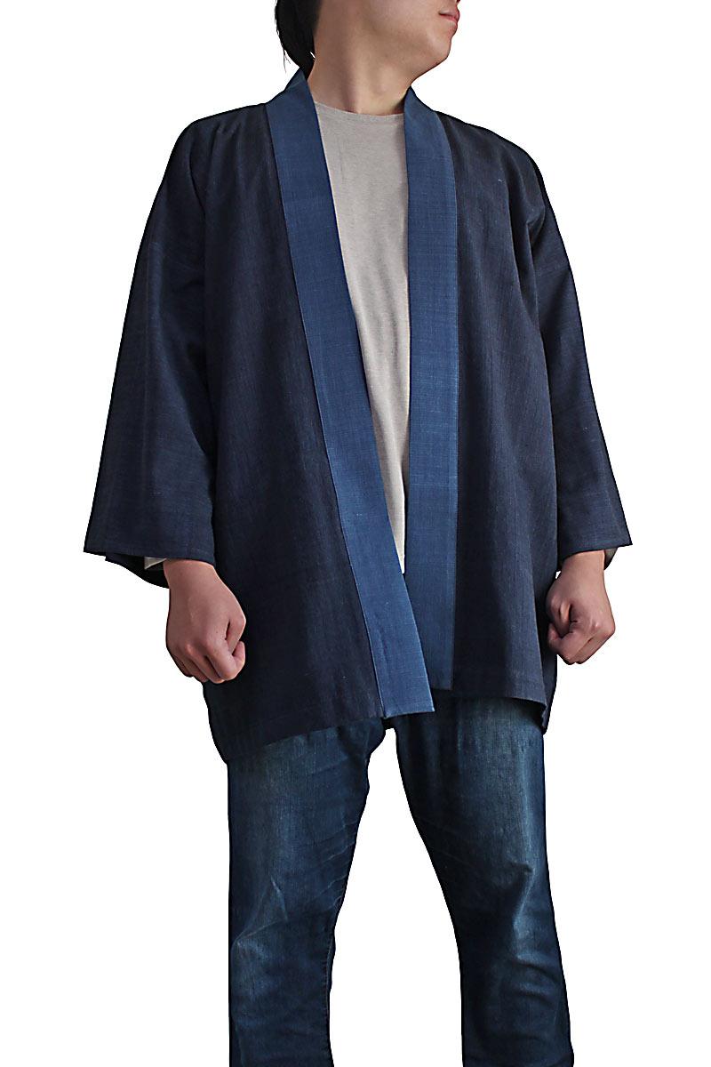ジョムトン手織り綿の法被コート