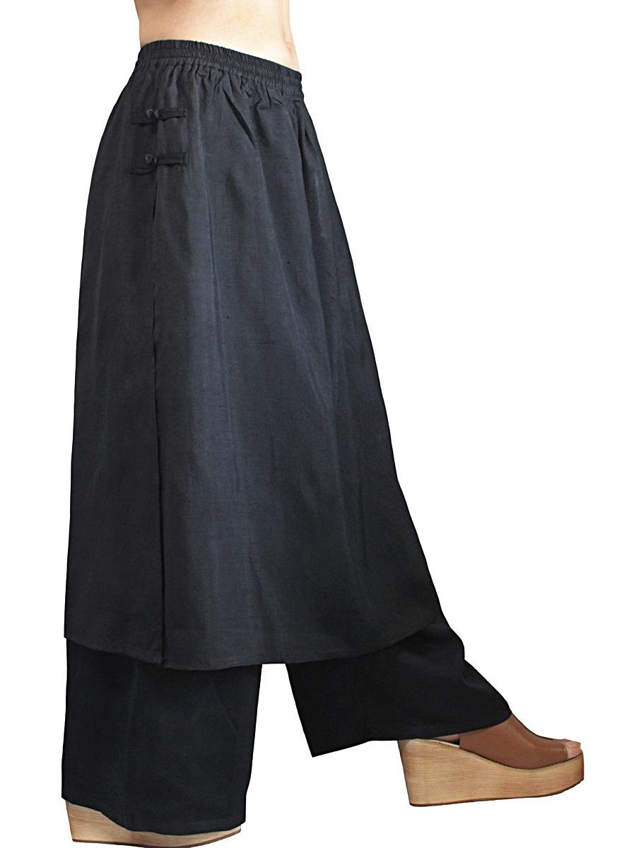 オールドタイシルクスカートパンツ(P-054)