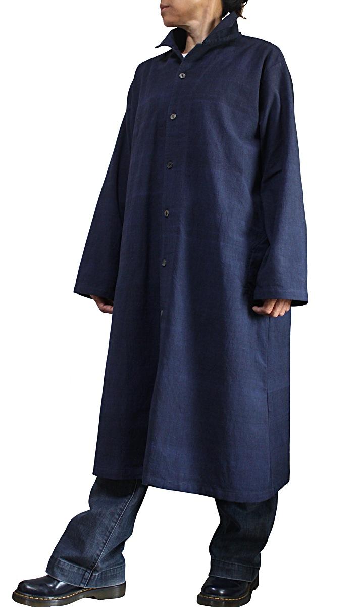 ジョムトン手織り綿シンプルコート(JFS-163-03)