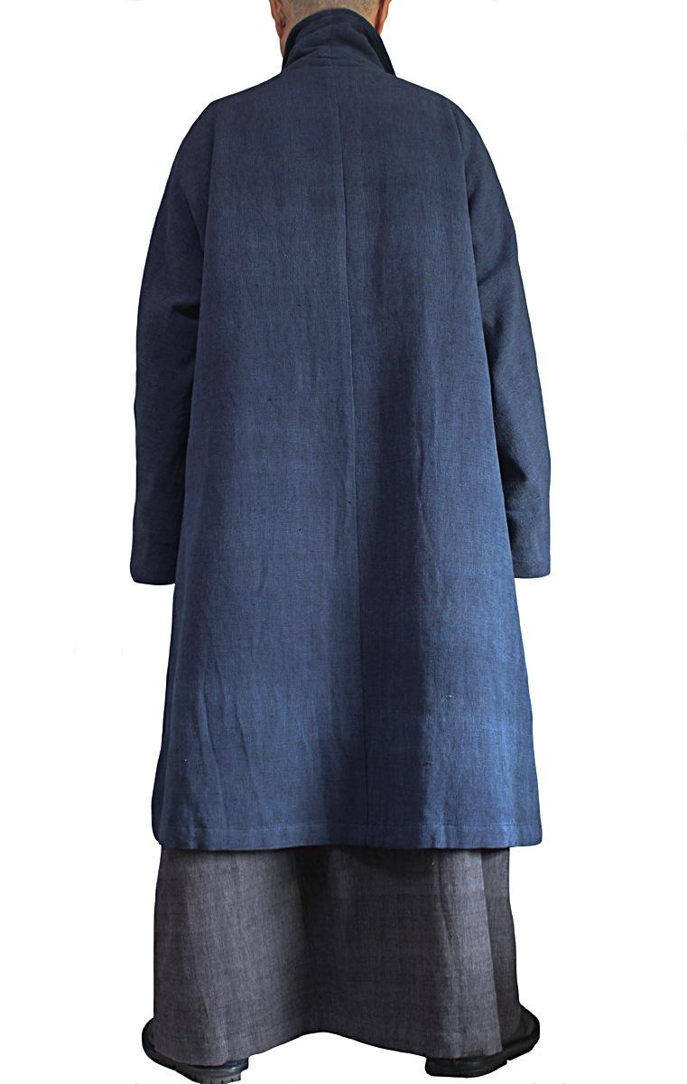 ジョムトン手織り綿羽織コート(JNN-093-03)