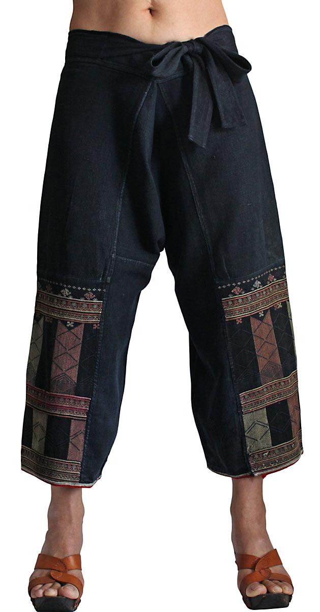 ヤオ(ザオ)の古布パンツ