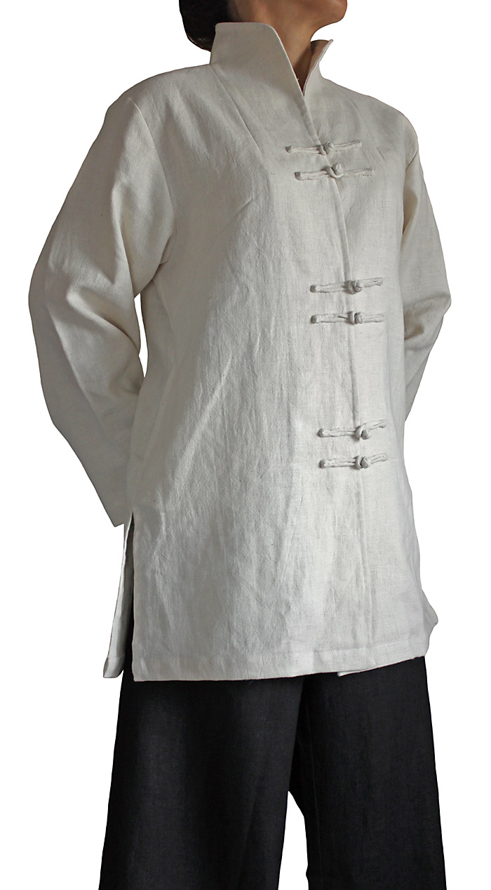 柔らかヘンプのオリエンタルジャケット