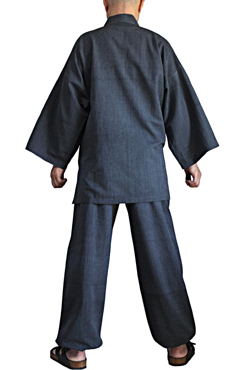 ジョムトン手織り綿の作務衣(DFS-066)