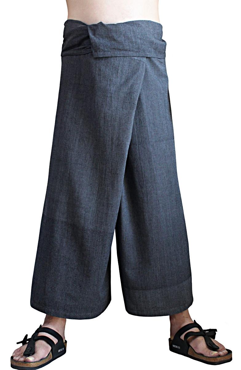 ジョムトン手織り綿のタイパンツ