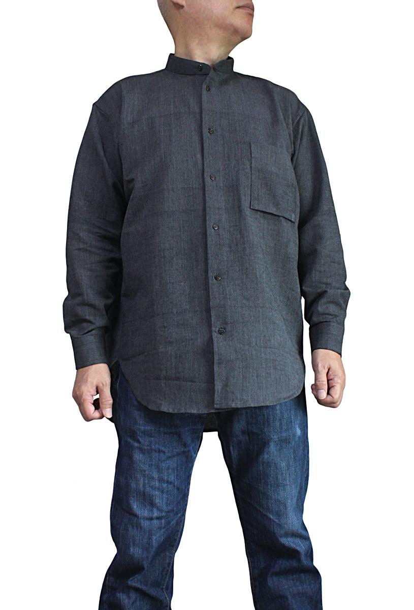 ジョムトン手織り綿バンデットシャツ(BFS-181-01)