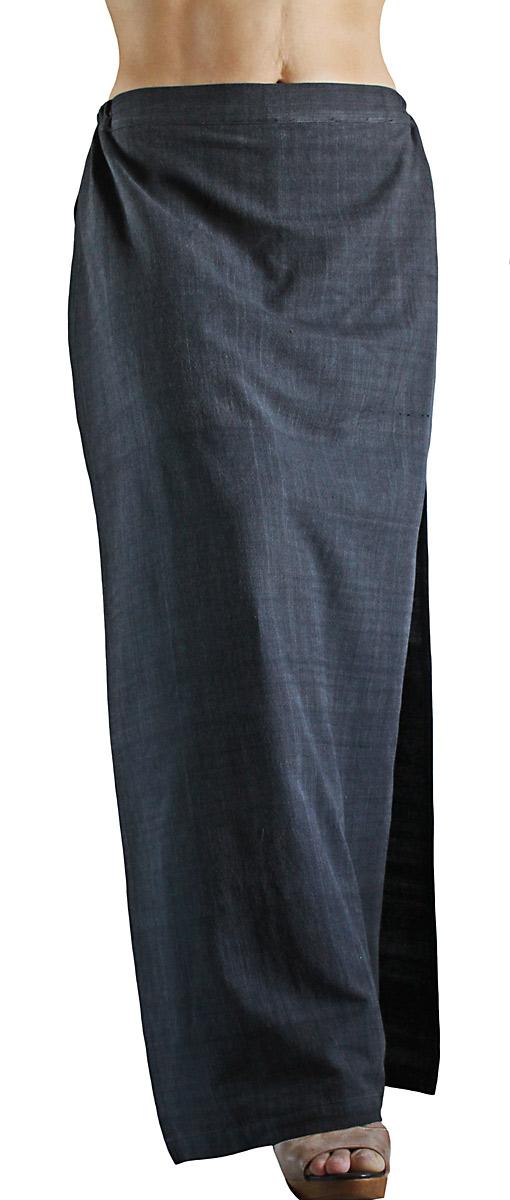 ジョムトン手織り綿のタイト風スカートパンツ(PFS-037)