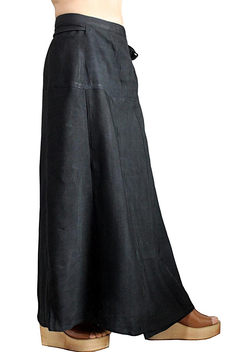 オールドタイシルクラップスカート