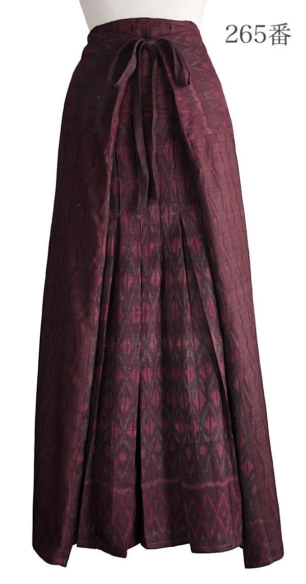 オールドタイシルク袴風スカート