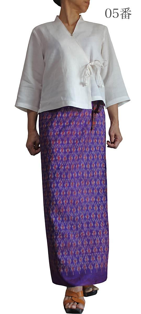 オールドタイシルクサロンスカート