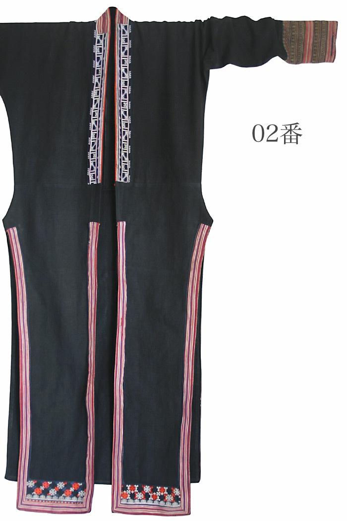 ヤオ(ザオ)のヘンプロングジャケット