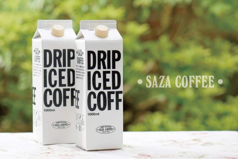 サザコーヒー・ネルドリップアイスコーヒー1000ml(6本)