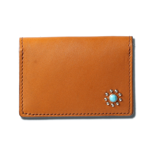 HTC Card Case #CORNERS FLOWER Turquoise