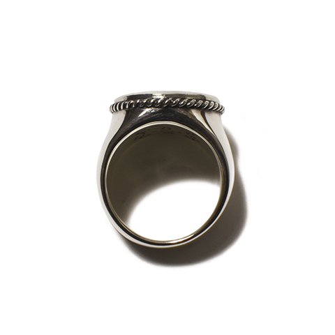 Button Works × Larry Smith Work Button Ring No.10