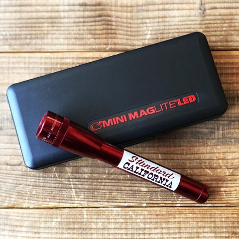 MAG-LITE × SD  Mini Maglite 2nd LED 2AA
